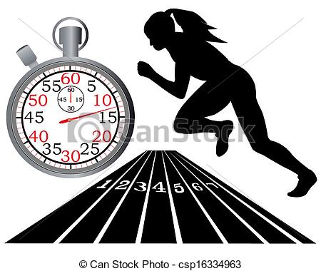 ... track and field - athletics track stopwatch on a white... ...