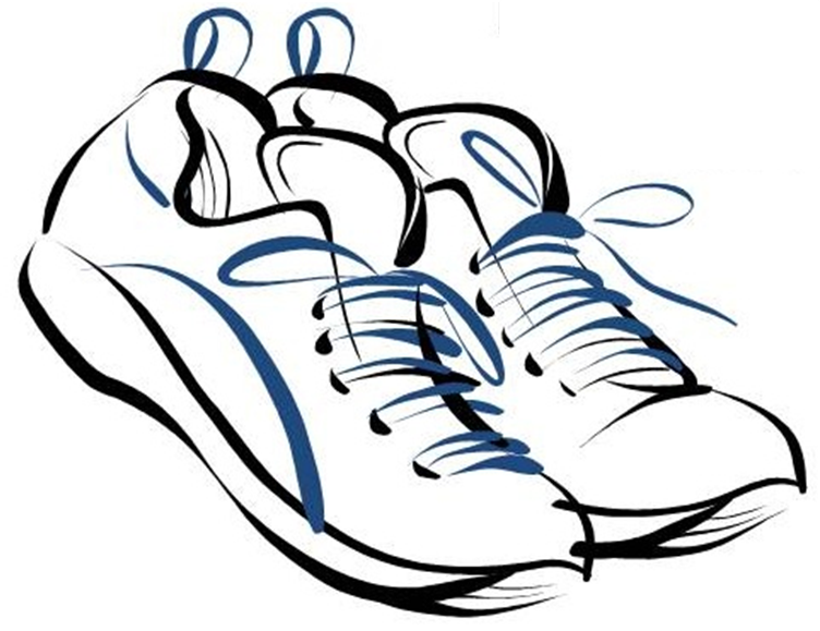 Track shoe shoe clip art clipart clipartcow