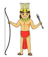 traditional aztec man clipart. Size: 55 Kb