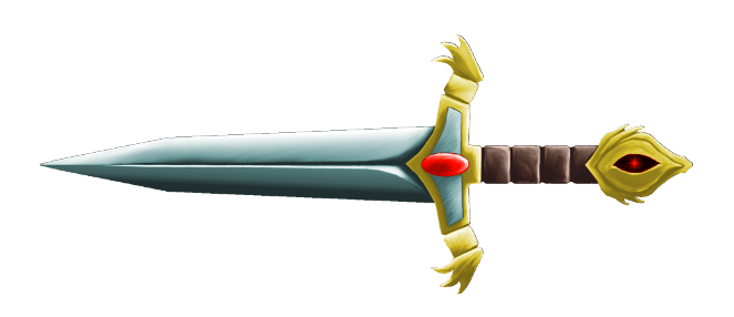 Traditional Dagger Clipart