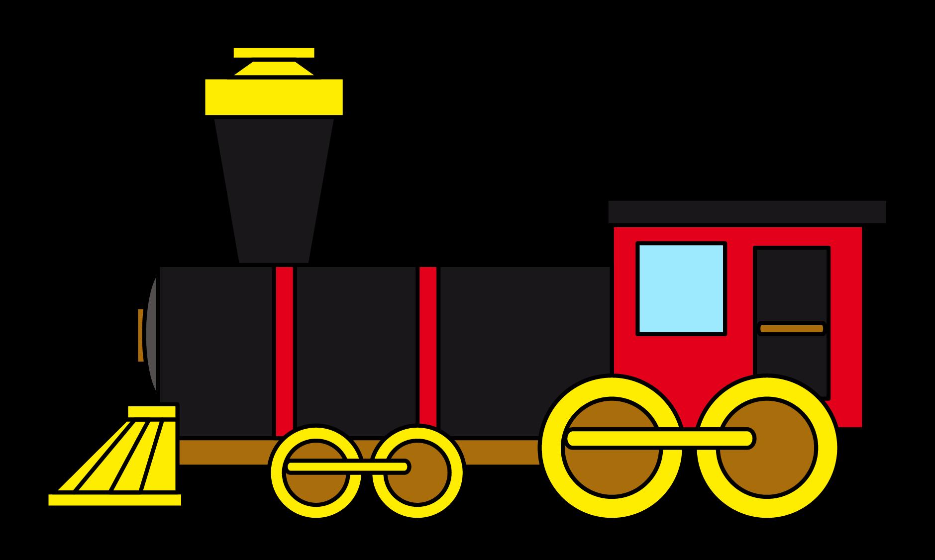 Train free to use clip art 2