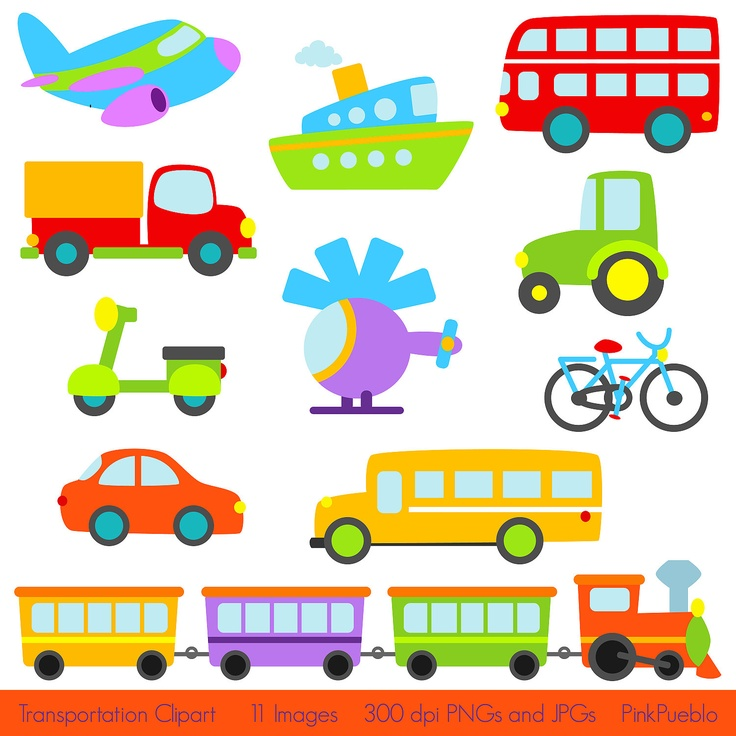 Vehicle clipart free transportation #3
