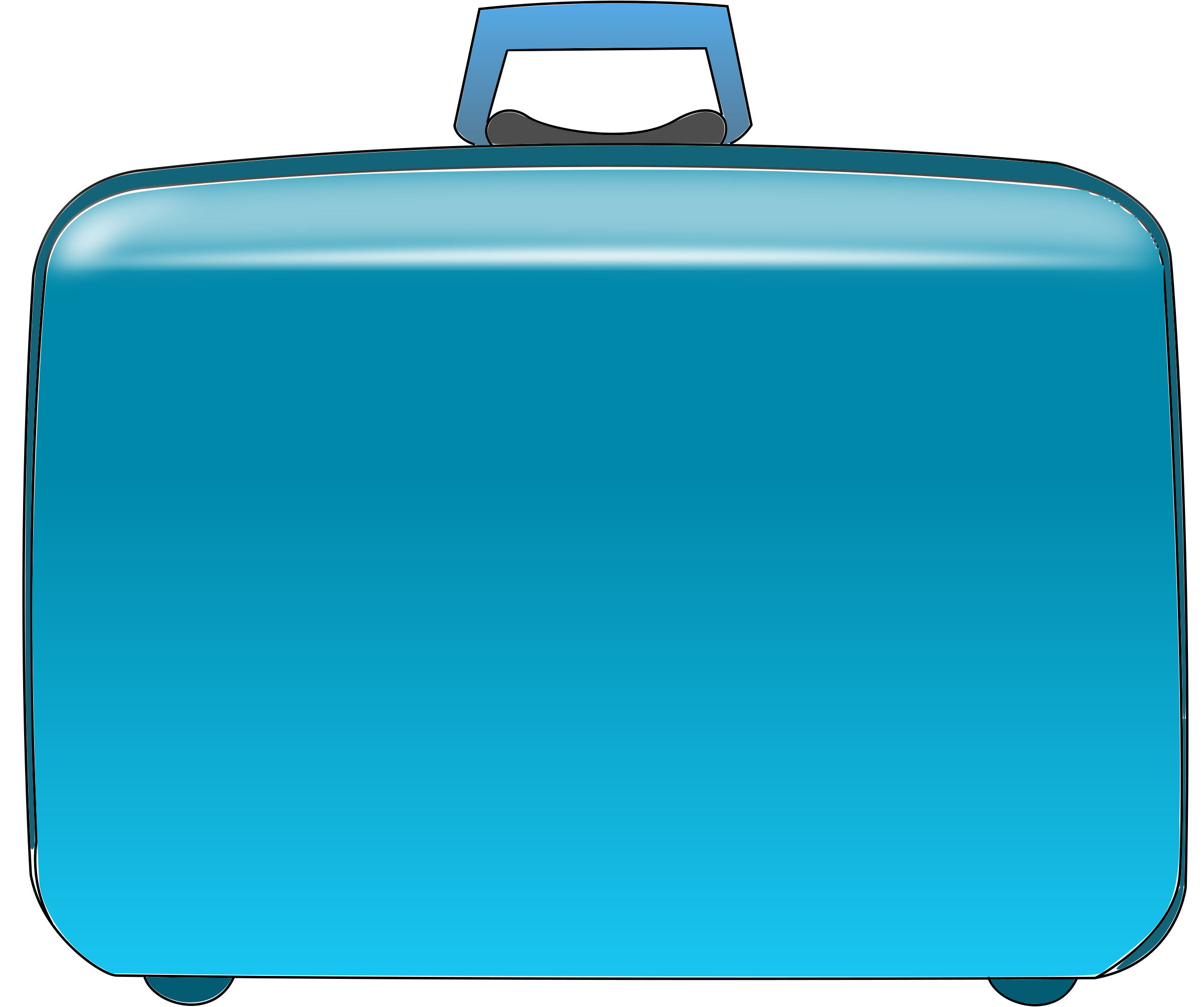 travel suitcase clip art