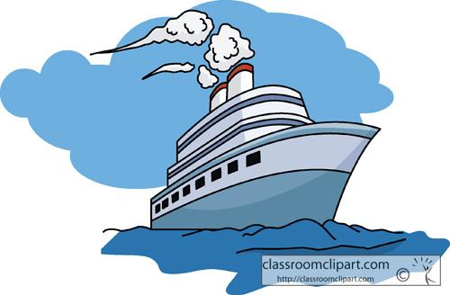 Travel Travel 08 Cruise Ship Classroom Clipart