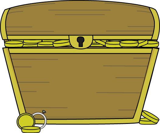 Treasure Chest Filled with .