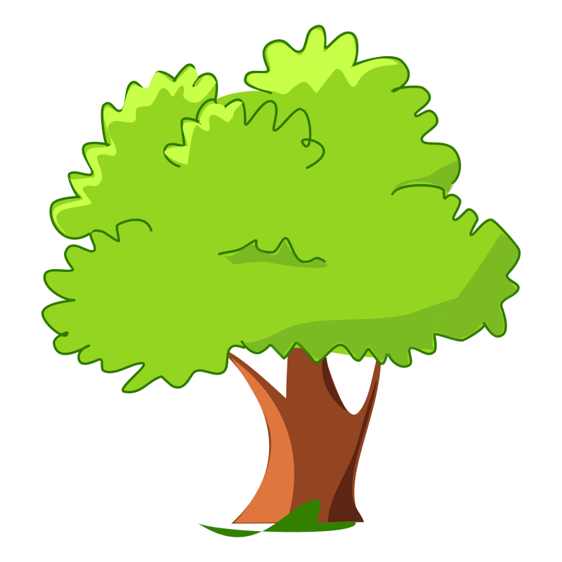 Trees clip art 2