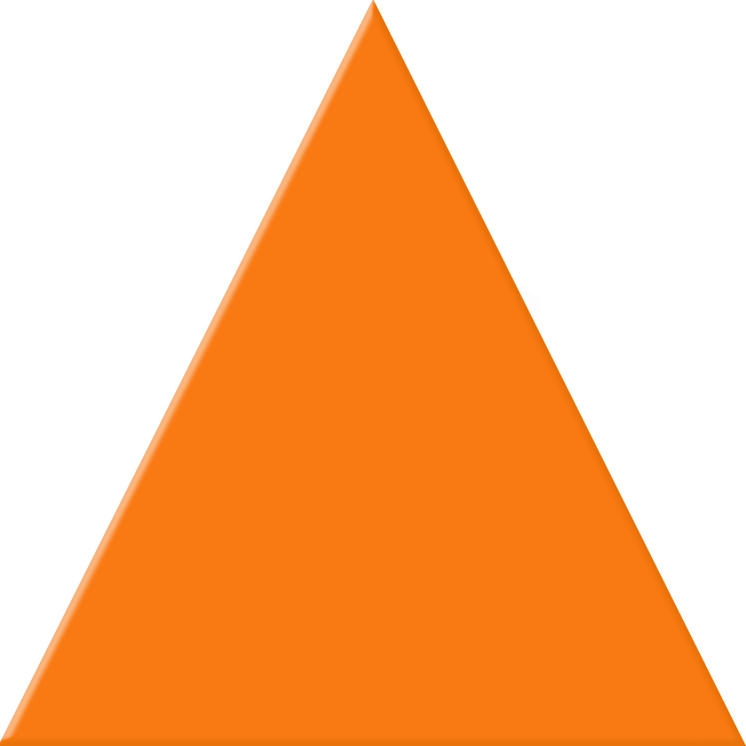 Orange Triangle Clipart #1