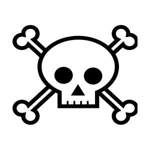 Tribal skull clipart clipartbold