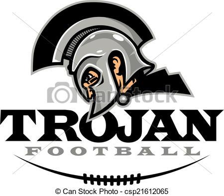 ... trojan football design - Trojan football design with helmet... ...
