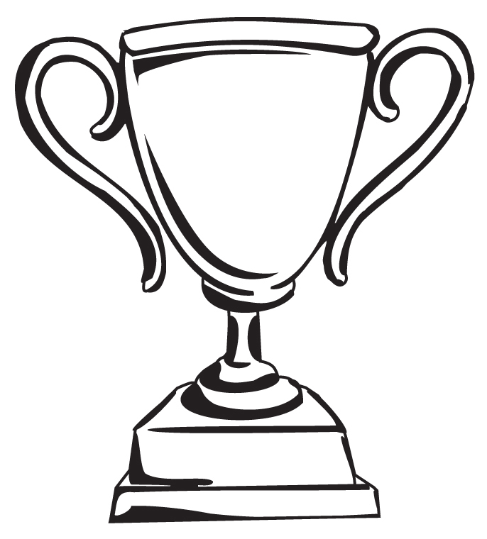 clipart trophy trophy clip art free clipart black white wikiclipart  animations