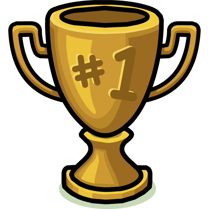 Trophy clipart transparent background #11