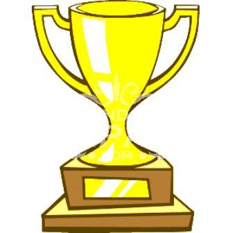 Trophy outline clipart