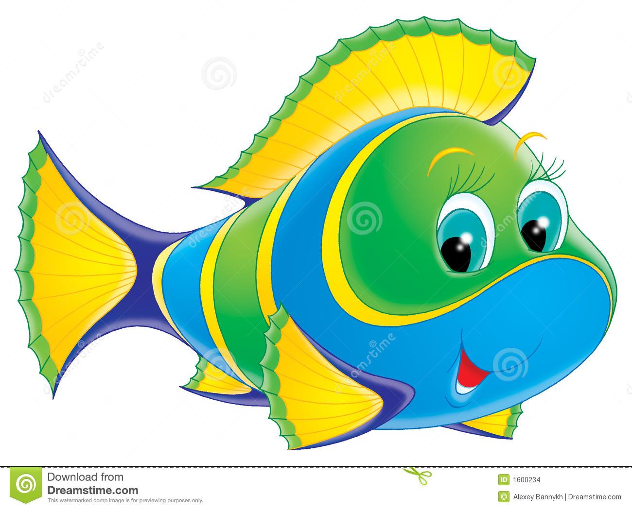 tropical fish clip art