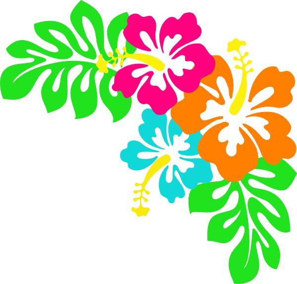 Tropical Leaves Clip Art   Hibiscus clip art