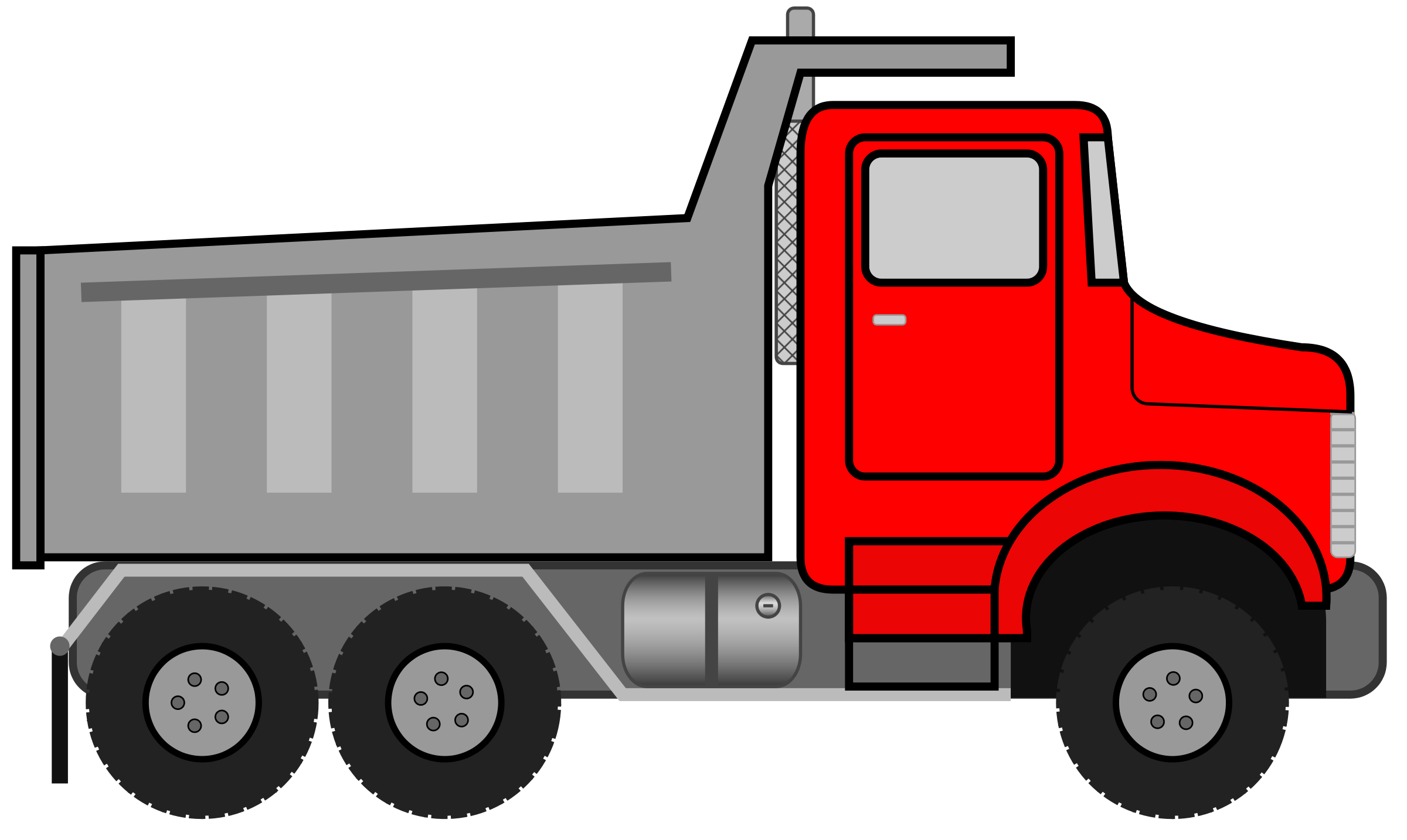 Truck Clipart #26897