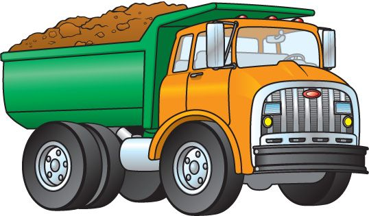 Trucks clipart free - ClipartFest
