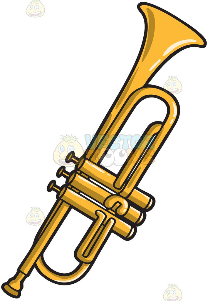 A musical instrument called the trumpet
