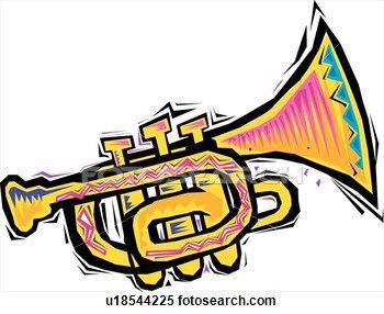 Clipart - Trumpet. | Clipart Panda - Free Clipart Images Free Clipart  Images, Trumpet