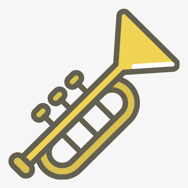 golden trumpet, Trumpet Clipart, Chant, Musical Instruments PNG Image and  Clipart