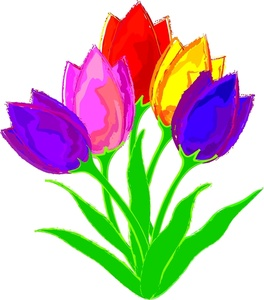 Tulip cliparts