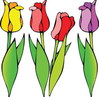 Tulip Flower Clip Art Free
