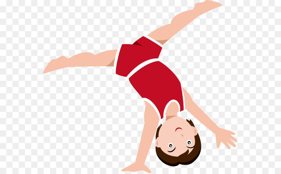 Minnesota Golden Gophers Mens Gymnastics Gymnast Girl Tumbling Clip Art -  Girl Gymnastics Cliparts
