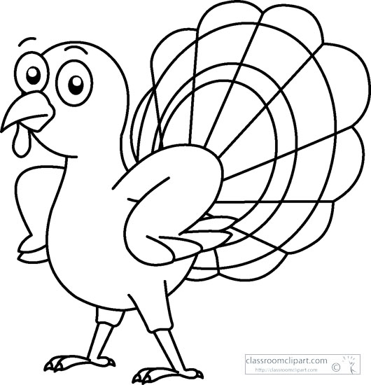 Turkey black and white turkey black and white thanksgiving turkey clipart