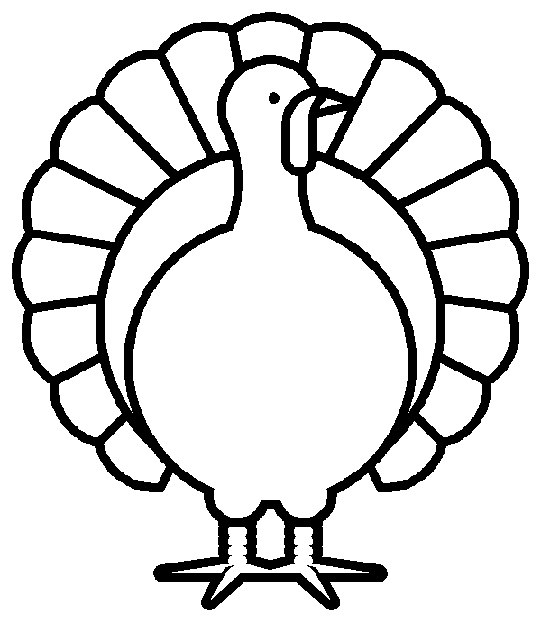 Turkey Black And White Turkey Clipart Black And White 9