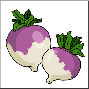 Clip Art: Turnips Color I abcteach hdclipartall.com - preview 1