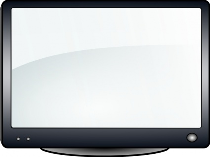 TV and the pattern; Glossy Tv