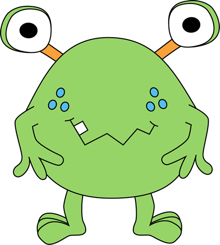 Two-Eyed Green Monster