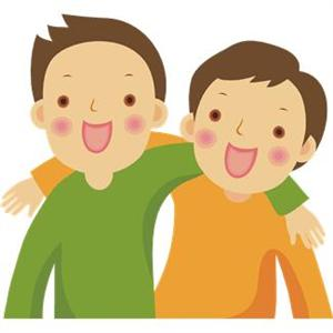 Two friends clipart free clip art image image