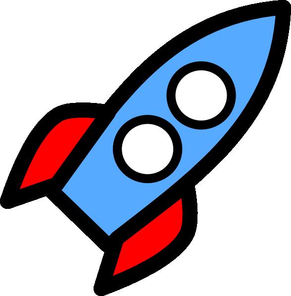 Two Window Rocket Clip Art At Clker Com Vector Clip Art Online