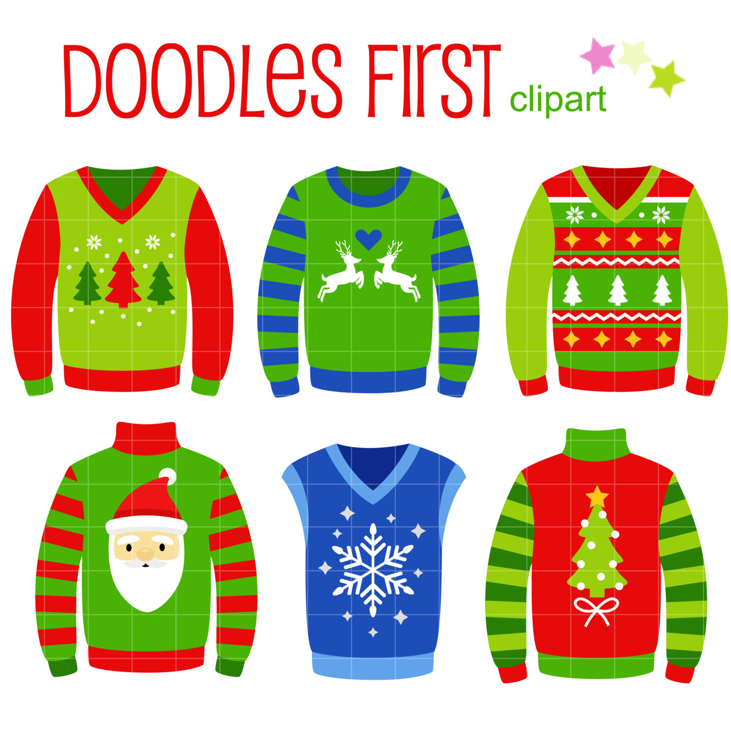 Ugly Sweater Clip Art Images 93