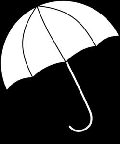 umbrella clipart black% .