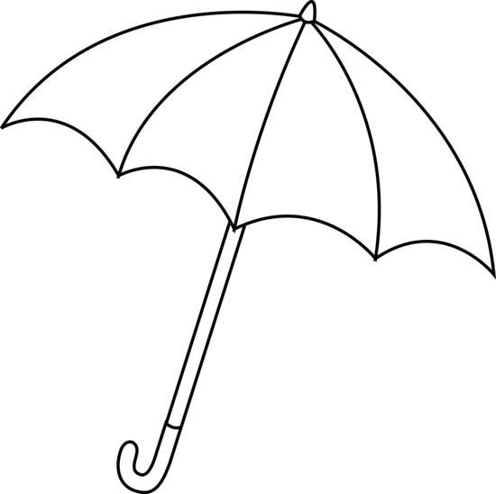 Umbrella black and white umbr - Umbrella Clipart Black And White