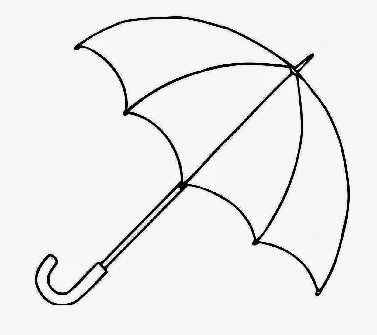Umbrella clipart free clipart - Umbrella Clipart Black And White