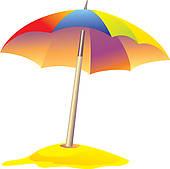 umbrella u0026middot; colored beach umbrella
