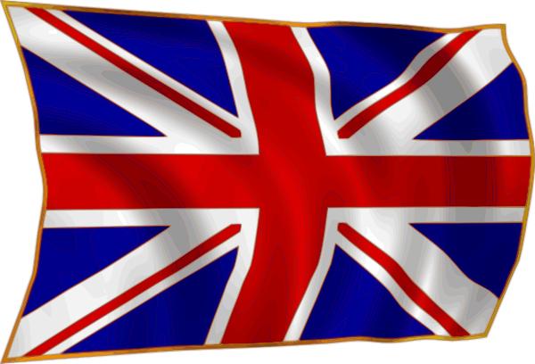 Union Flag Fluttering In Breeze Clip Art At Clker Com Vector Clip