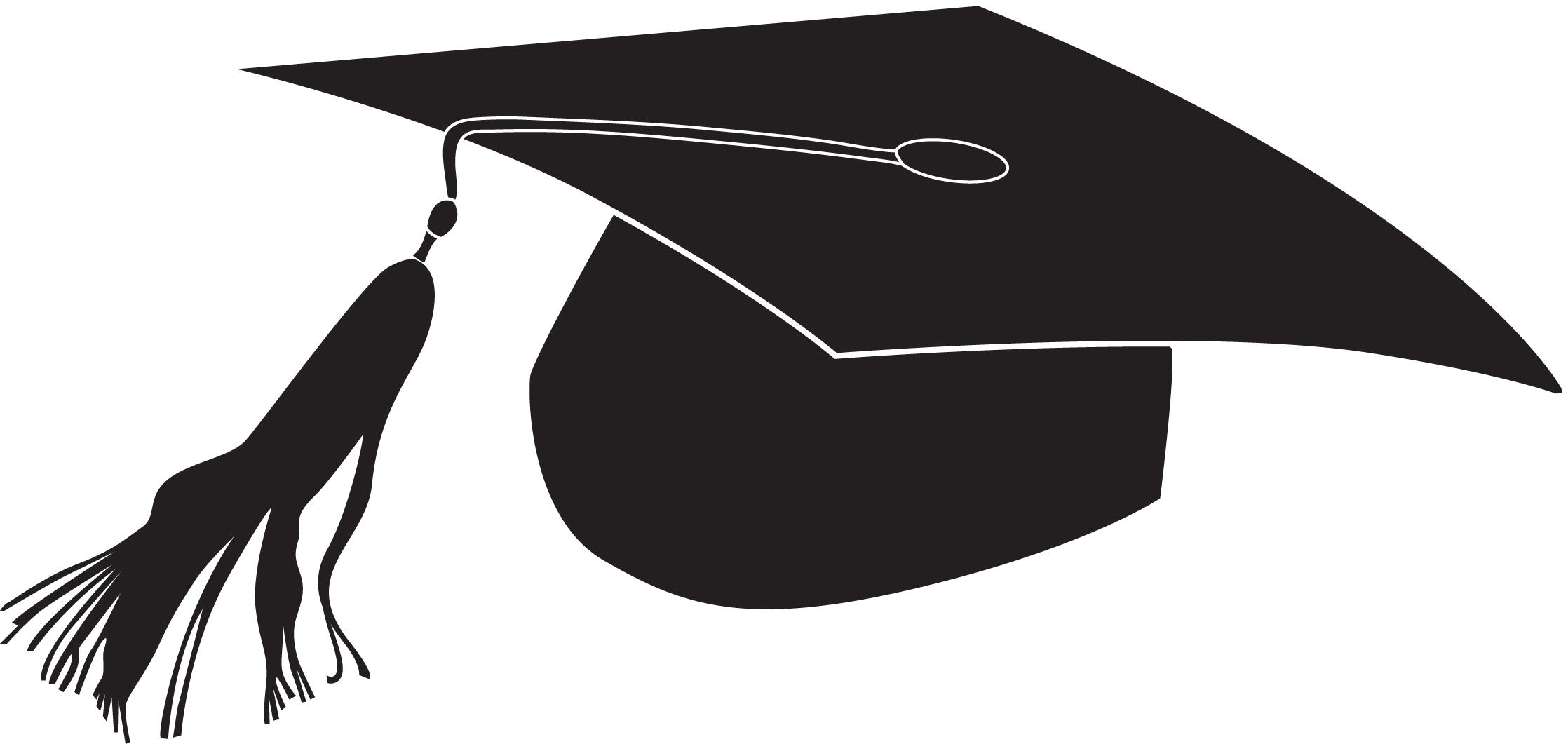 Uniqe graduation symbols clipart