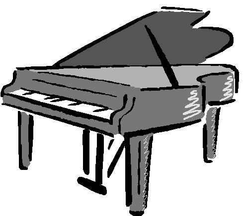 upright piano clipart