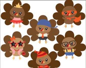 Use- Cute Turkey Clipart .