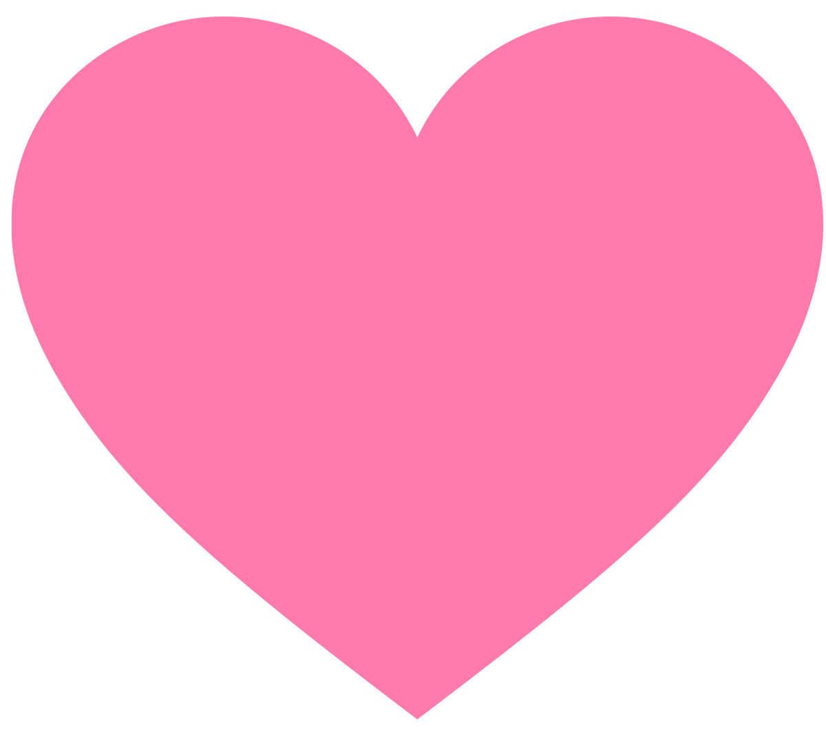 Pink Valentines Heart Clipart