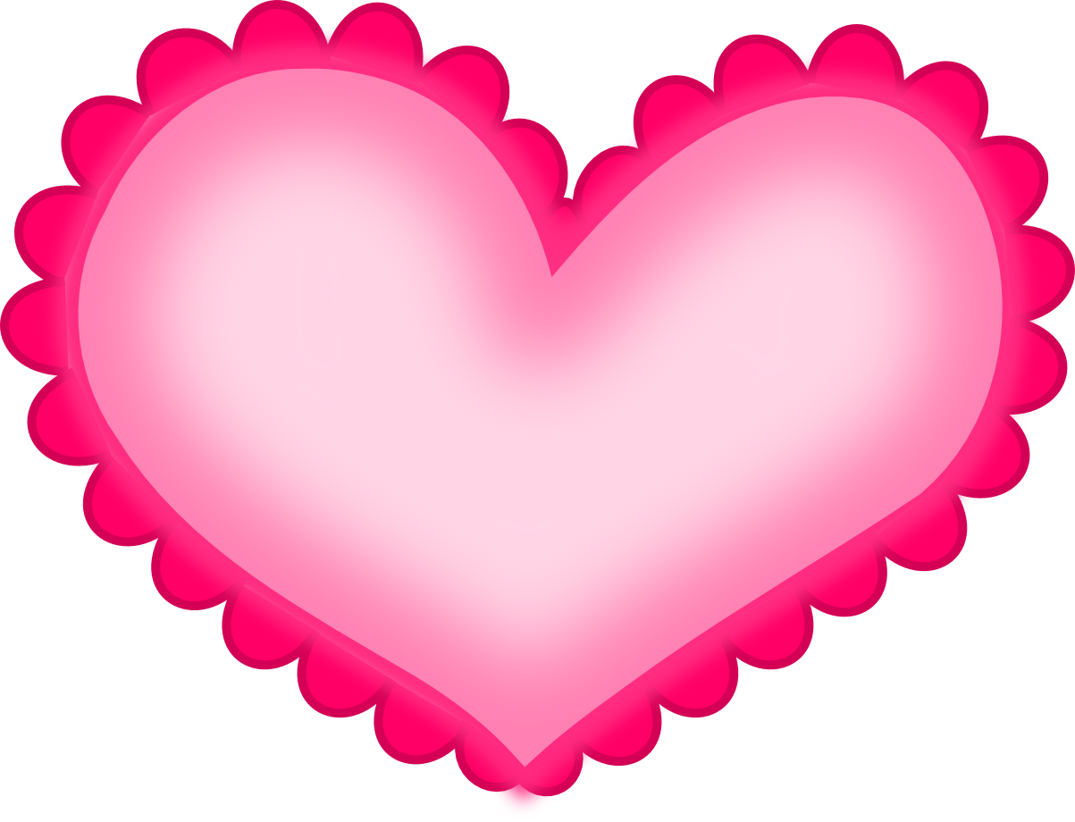 Valentineu0027s Day clipart hot pink heart #4