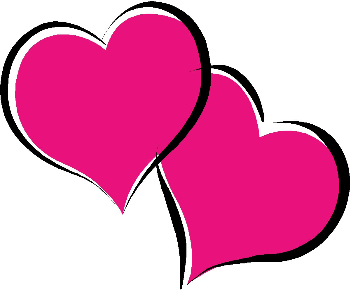 Valentines Day Hearts Picture - Valentine Heart Clipart