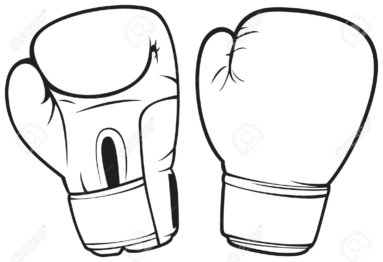 Vector - boxing gloves