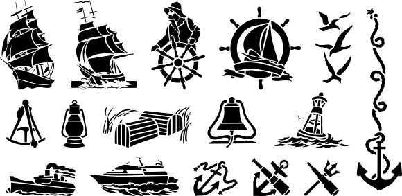 Free Vector Clip Art Vector Clipart Free Vector Clipart Nautical Collection Ideas