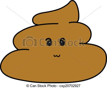 Vector - cute Poop Cartoon