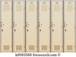 vector school lockers