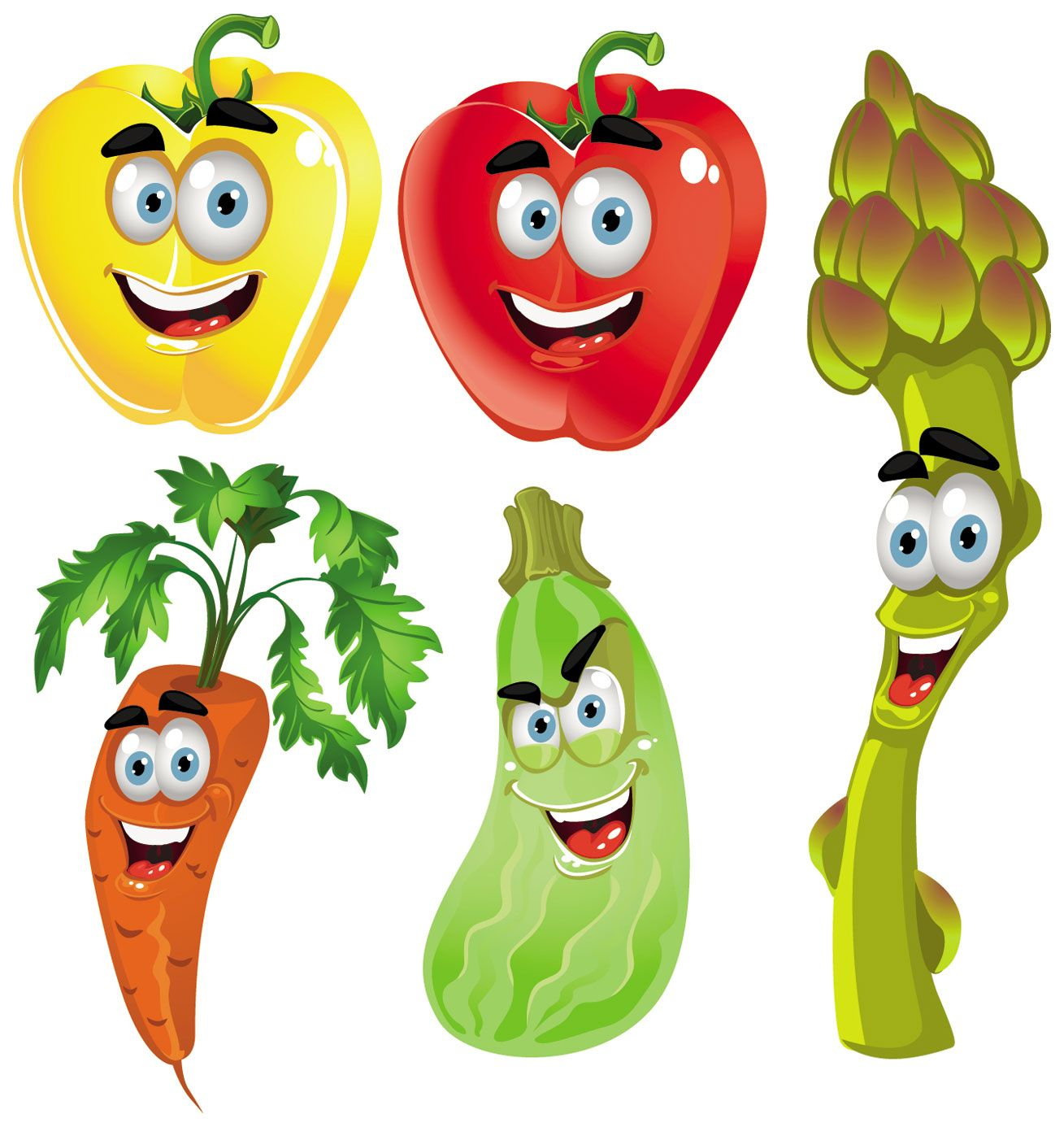 Fruits And Vegetables Clipart - Cliparts.